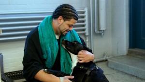 Inmate Dog Handler 'Candido' and his dog, Sam (2)