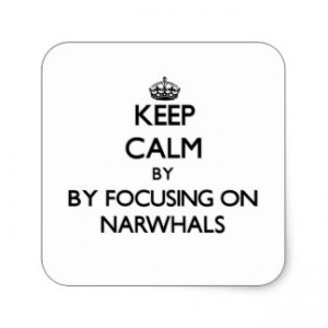 keep_calm_by_focusing_on_narwhals_square_sticker-r41213319e378421c929ab59a394365cf_v9wf3_8byvr_324